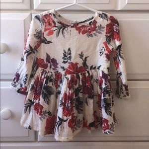 Old Navy flowered fall dress